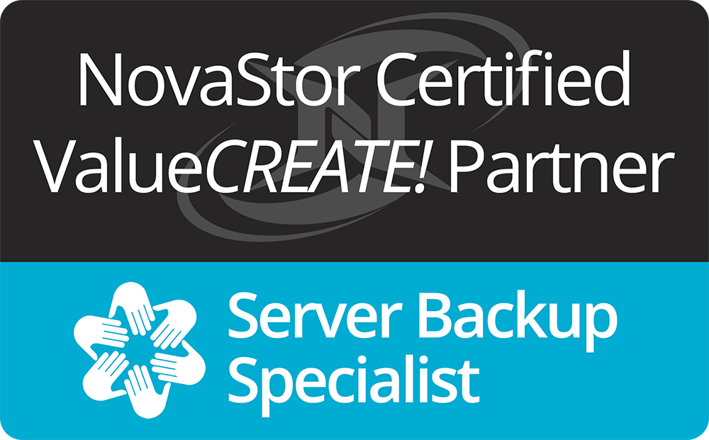 Certified Value Create Novastor Partner & Server Backup Specialist